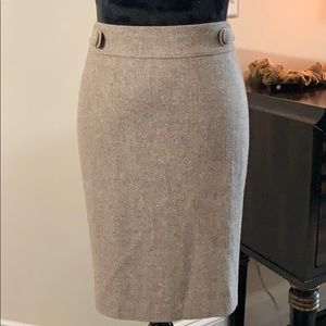 Ann Taylor tweed skirt